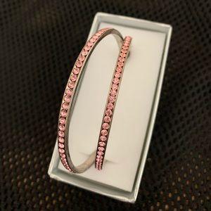 Bebe Jaworski pink earring